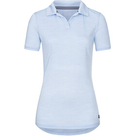 super.natural Everyday Poloshirt Damen skyway melange